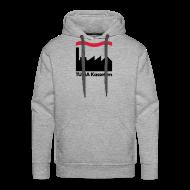 Pullover & Hoodies ~ Männer Premium Kapuzenpullover ~ TUMA Fac Hoodie grau