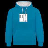 Pullover & Hoodies ~ Kontrast-Kapuzenpullover ~ TUMA Hoodie