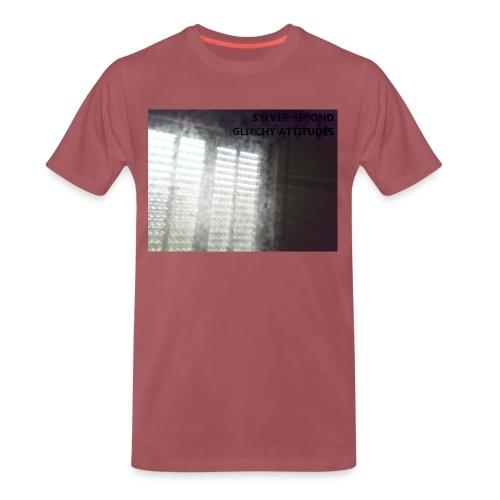 SYLVER SECOND - GLITCHY ATTITUDES - Männer Premium T-Shirt