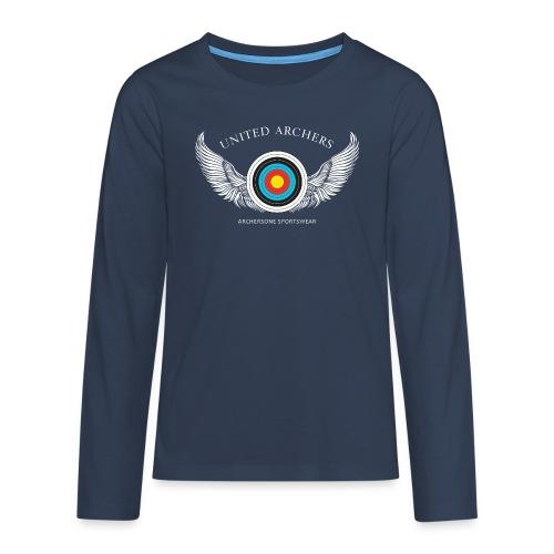 Teenager Premium Langarmshirt - United Archers - Teenager Premium Langarmshirt