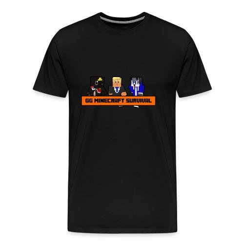 MENS GG MINECRAFT SURVIVAL SERIES T-SHIRT  - Men's Premium T-Shirt