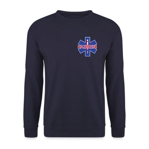 hazmeds 2 x print tekst vet - Mannen sweater