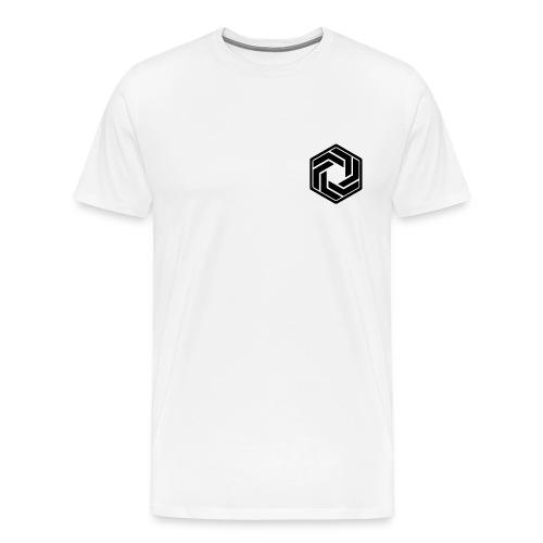 BW Logo White Shirt - Men's Premium T-Shirt