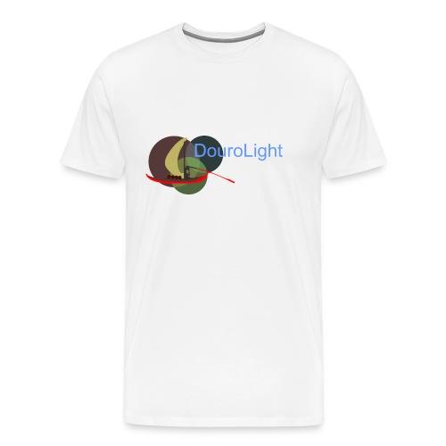 T-Shirt Homem Premium DouroLight DL05 - Men's Premium T-Shirt