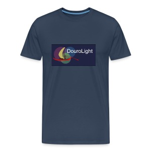 T-Shirt Homem Premium DouroLight DL04 - Men's Premium T-Shirt