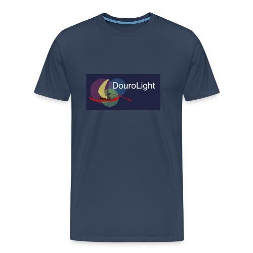 T-Shirt Homem Premium DouroLight DL04 - Men's Premium T-Shirt