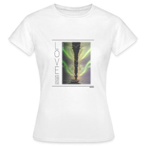 LOVE Valosydän Aurora T-shirt (Women's) - Women's T-Shirt