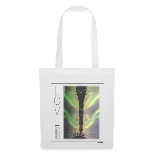 LOVE Valosydän Aurora Tote bag - Tote Bag