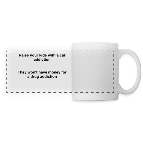 Kids Car Addiction - Mug - Panoramic Mug