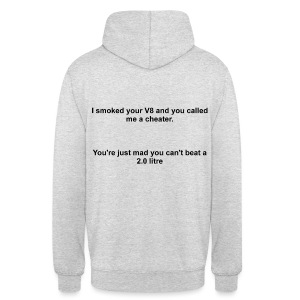 Smoked Your V8, 2 Litre - Hoodie - Unisex Hoodie