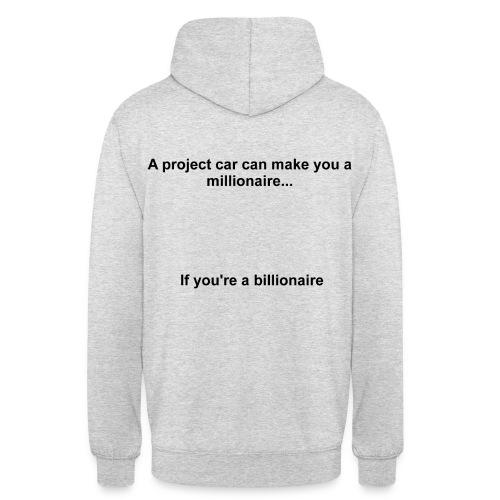 Project Car Millionaire - Hoodie - Unisex Hoodie