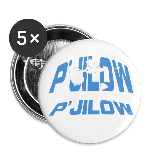 P'jilow badge moyen 32 mm - Lot de 5 moyens badges (32 mm)