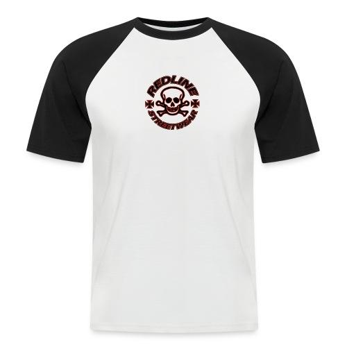 Baseboll t-shirt,herr;RedLineStreetWear - Kortärmad basebolltröja herr