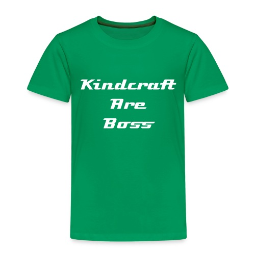 KIDS = Kindcraft are boss - Kids' Premium T-Shirt