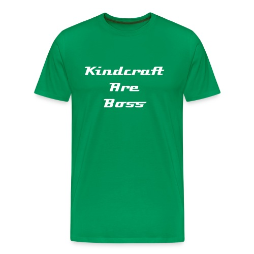 MEN = Kindcraft are boss - Men's Premium T-Shirt