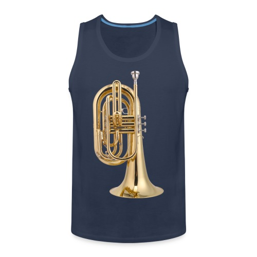 Mellofoon is goud - Mannen Premium tank top