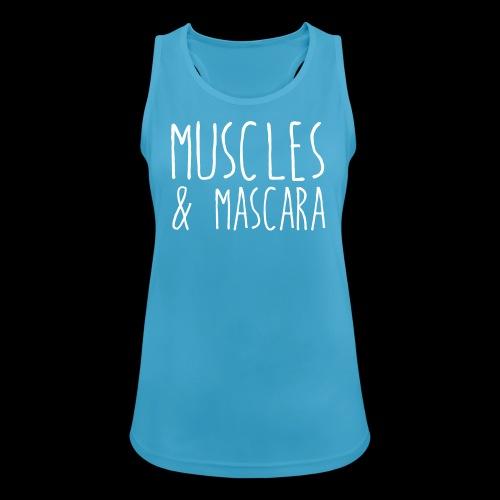 Muscles & Mascara Funktionstop - Frauen Tank Top atmungsaktiv