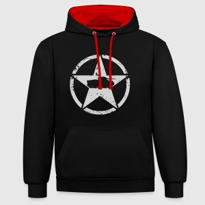 World of Tanks USA Tank Men Hoodie - Contrast Colour Hoodie