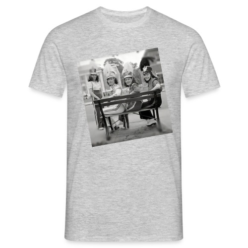 Retro Drummer Girls - Mannen T-shirt