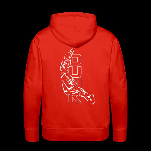 Sweat capuche basket - Sweat-shirt à capuche Premium pour hommes