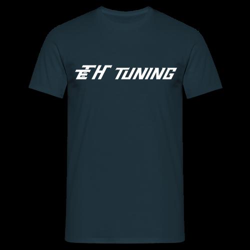 T-Shirt Herren Logo Dunkelblau - Männer T-Shirt