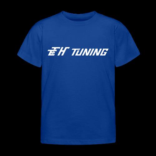 T-Shirt Kinder Logo Blau - Kinder T-Shirt