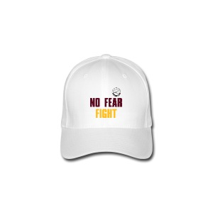 NO FEAR FIGHT - Flexfit Baseballkappe