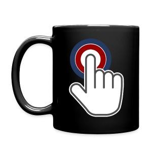 Kaffee-Tasse schwarz - Tasse einfarbig