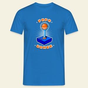Papa gamer - T-shirt Homme