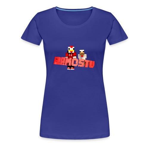 FlamosTV T-Shirt  - Frauen Premium T-Shirt