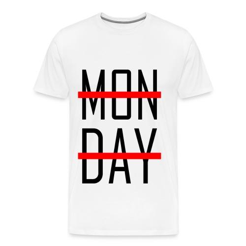 MONDAY? no, thanks - Männer Premium T-Shirt