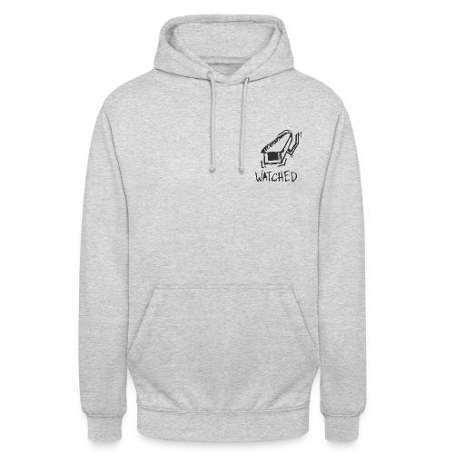 Watched Grey Sweater - Sweat-shirt à capuche unisexe