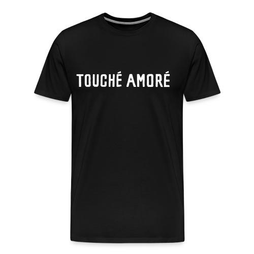 Touche Amore Logo Black Shirt - Men's Premium T-Shirt