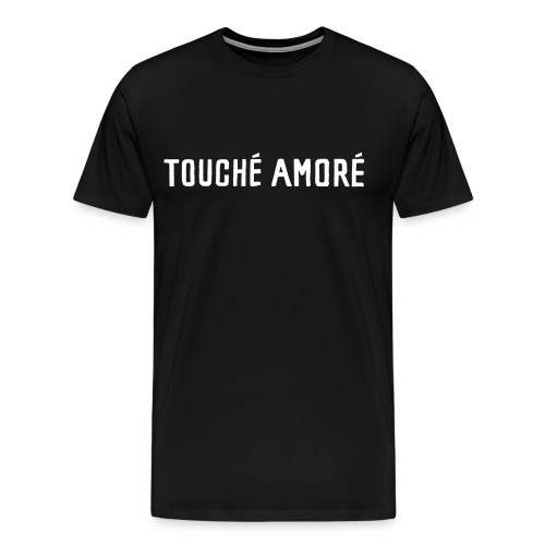 Touche Amore Logo Black Shirt - Men's Premium T-Shirt