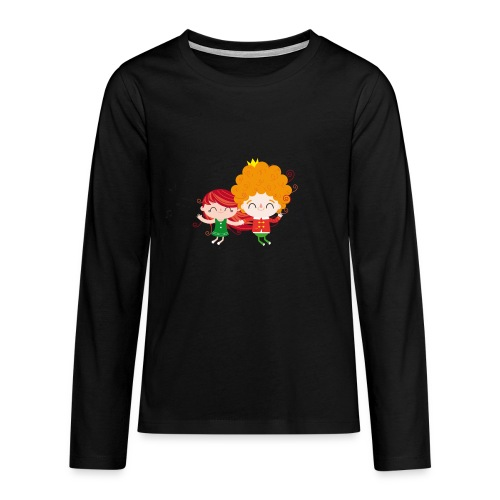 Happy dance - Teenagers' Premium Longsleeve Shirt