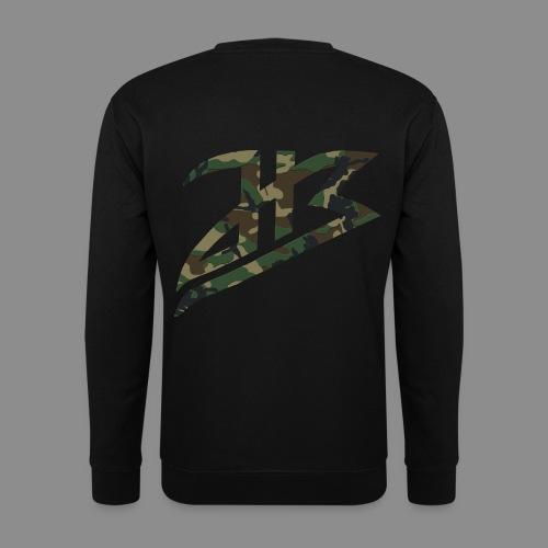 HB Hoody camo dunkel - Männer Pullover