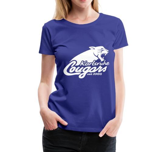 T-Shirt (w), klassisch, Logo - Frauen Premium T-Shirt