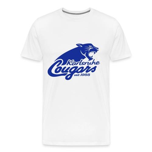 T-Shirt (m), klassisch, Logo - Männer Premium T-Shirt