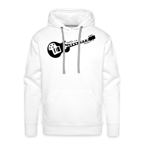 ToMSc-Media Logo - Kapuzenpullover (Männer) - Männer Premium Hoodie