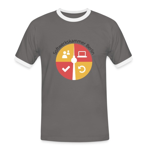 Butch Shirt Logo  - Men's Ringer Shirt