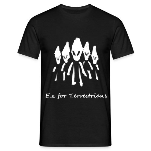 E.x for T.errestrians - Männer T-Shirt