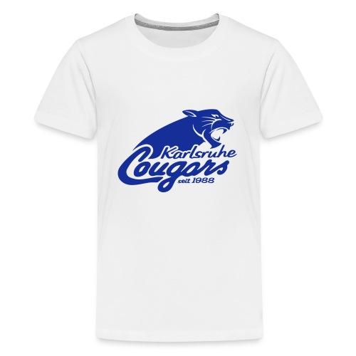 T-Shirt (j), klassisch, Logo - Teenager Premium T-Shirt