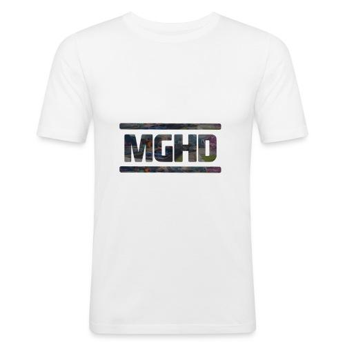 MGHD WHITE T-SHIRT - Men's Slim Fit T-Shirt