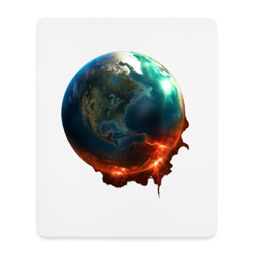 JvH racing Mouse mat World on Fire - Mouse Pad (vertical)