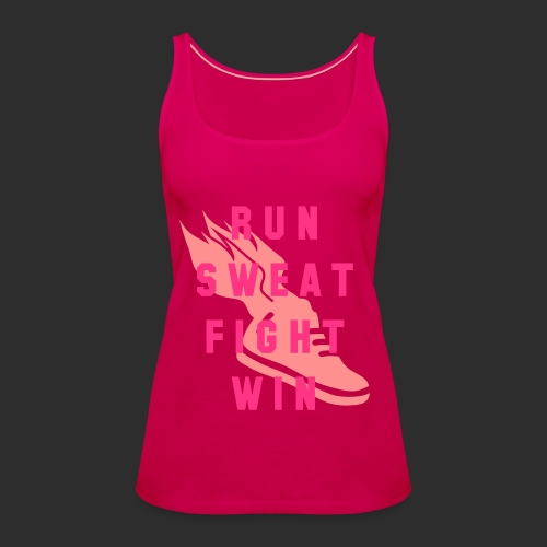 Tank Top RUN - Frauen Premium Tank Top