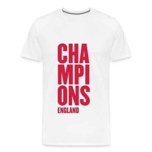 England Champions - Mens Tshirts - Men's Premium T-Shirt