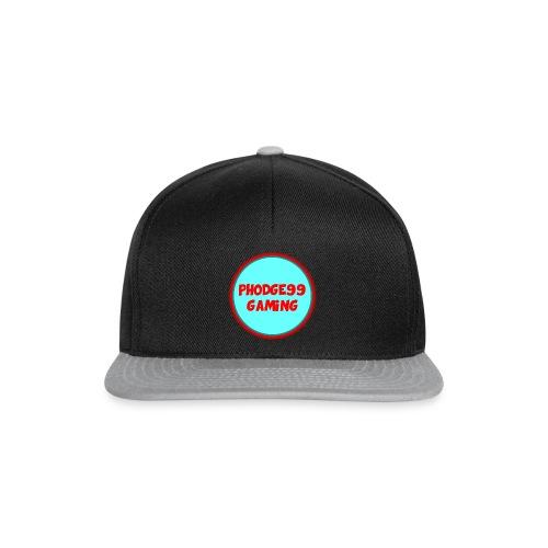 Phodge99gaming (Red & Blue) snapback - Snapback Cap
