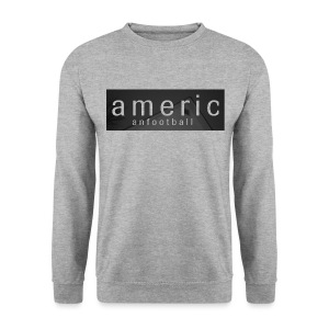 American Football House Grey Crewneck - Men's Sweatshirt