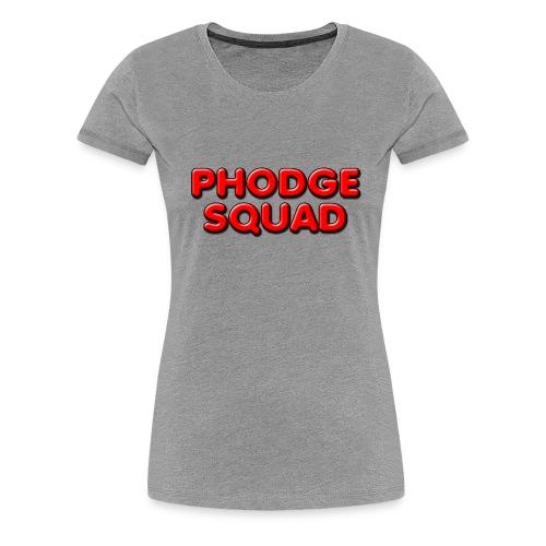 Phodge Squad Red (female)  - Women's Premium T-Shirt