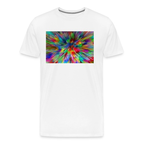 Colour Explosion T-Shirt - Men's Premium T-Shirt